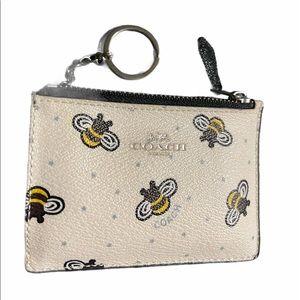 Coach Bee Mini Coin / Card wallet